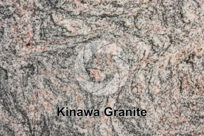 Kinawa Granite. Bahia. Brazil. Polished section