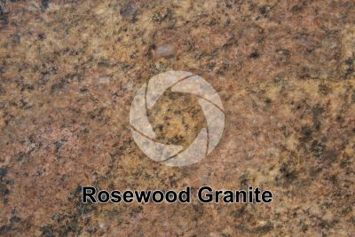Rosewood Granite. Tamil Nadu. India. Polished section