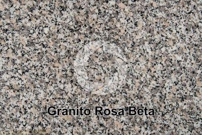 Granito Rosa Beta. Monte Limbara. Sardegna. Italia. Sezione lucida