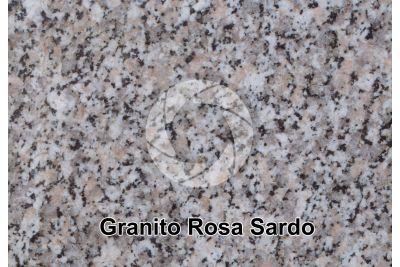 Granito Rosa Sardo. Sardegna. Italia. Sezione lucida