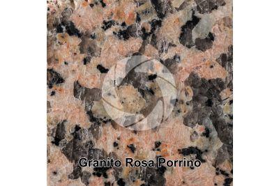 Granito Rosa Porrino. Porrino. Galizia. Spagna. Sezione lucida. 1X