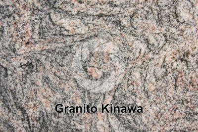 Granito Kinawa. Bahia. Brasile. Sezione lucida