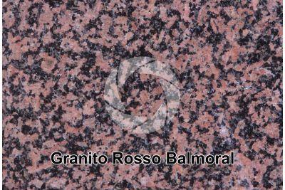 Granito Rosso Balmoral. Finlandia. Sezione lucida. 2X