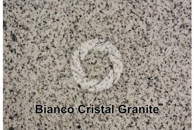 Bianco Cristal Granite. Madrid. Spain. Polished section