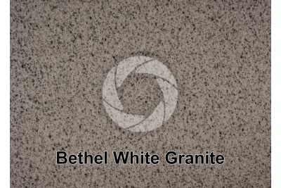 Bethel White Granite. Bethel. Vermont. USA. Polished section