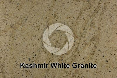 Kashmir White Granite. Tamil Nadu. India. Polished section