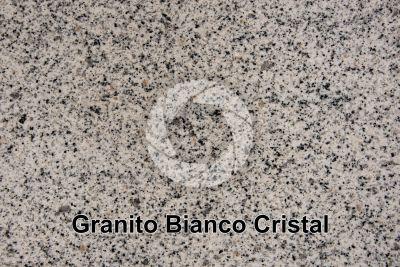 Granito Bianco Cristal. Madrid. Spagna. Sezione lucida