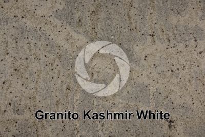 Granito Kashmir White. Tamil Nadu. India. Sezione lucida