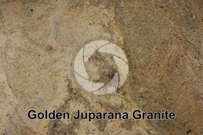 Golden Juparana Granite. Tamil Nadu. India. Polished section