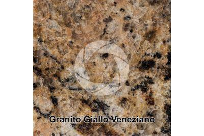 Granito Giallo Veneziano. Brasile. Sezione lucida. 1X