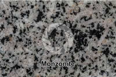 Monzonite. Polished section. 1X