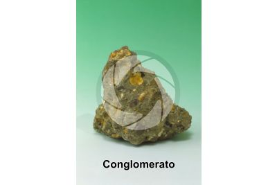 Conglomerato. Bergamo. Lombardia. Italia