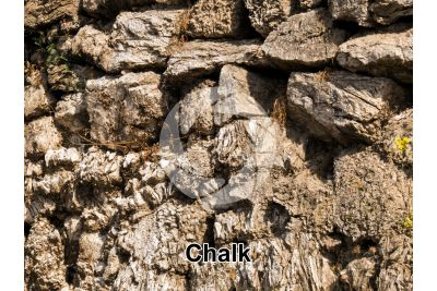 Chalk. Sicily. Italy