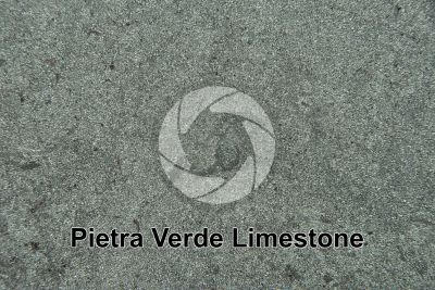 Pietra Verde Limestone. Germany. Polished section