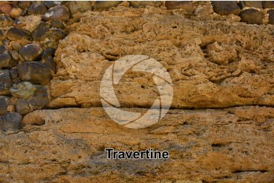 Travertine. Tenerife. Canary Islands. Spain