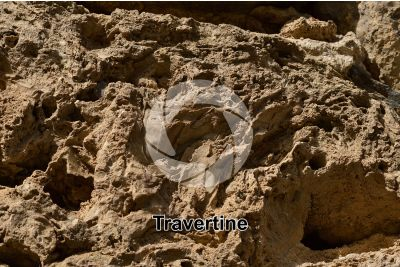 Travertine. Gran Canaria. Canary Islands. Spain