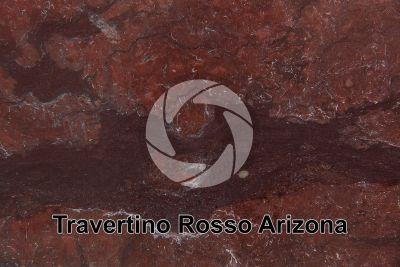 Travertino Rosso Arizona. Turchia. Sezione lucida