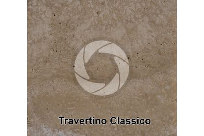 Travertino Classico. Lazio. Italia. Sezione lucida. 1X