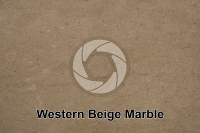 Western Beige Marble. Iran. Polished section