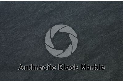 Anthracite Black Marble. Italy. Polished section
