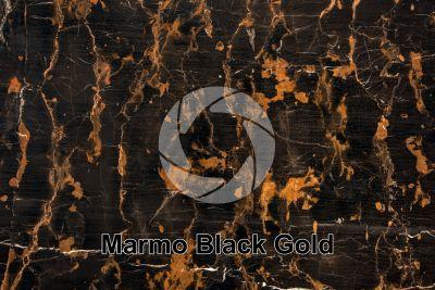 Marmo Black Gold. Balochistan. Pakistan. Sezione lucida