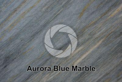 Aurora Blue Marble. Brazil. Polished section