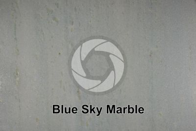 Blue Sky Marble. Espirito Santo. Brazil. Polished section