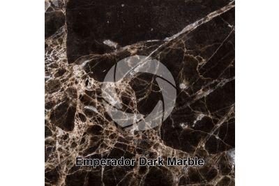 Emperador Dark Marble. Antalya. Turkey. Polished section. 1X