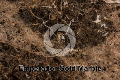 Emperador Gold Marble. China. Polished section