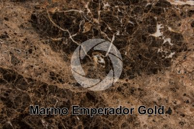 Marmo Emperador Gold. Cina. Sezione lucida