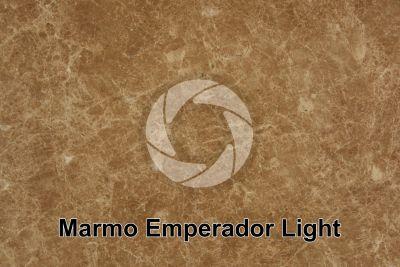 Marmo Emperador Light. Valencia. Spagna. Sezione lucida