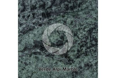 Verde Alpi Marble. Aosta. Italy. Polished section. 1X