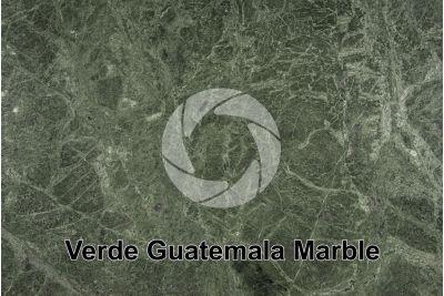 Verde Guatemala Marble. Rajasthan. India. Polished section