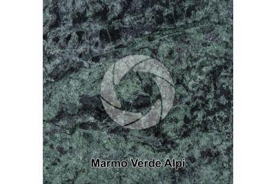 Marmo Verde Alpi. Aosta. Italia. Sezione lucida. 1X