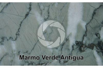 Marmo Verde Antigua. Iran. Sezione lucida