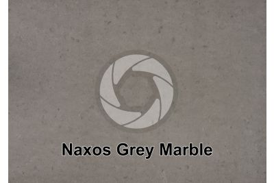 Naxos Grey Marble. Greece. Polished section