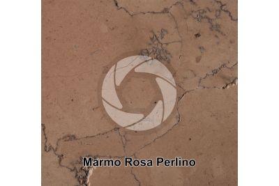 Marmo Rosa Perlino. Asiago. Veneto. Italia. Sezione lucida. 1X