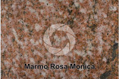 Marmo Rosa Monica. Karibib. Namibia. Sezione lucida