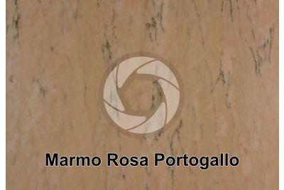 Marmo Rosa Portogallo. Portogallo. Sezione lucida