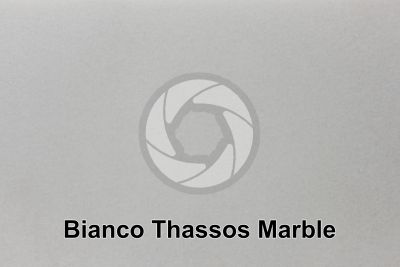 Bianco Thassos Marble. Thasos. Greece. Polished section