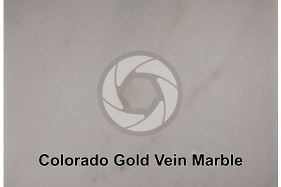 Colorado Gold Vein Marble. Colorado. USA. Polished section
