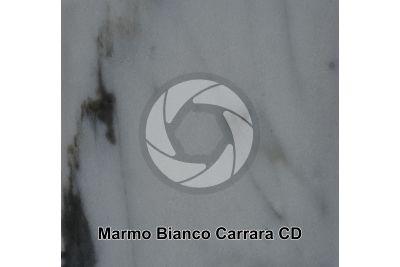 Marmo Bianco Carrara CD. Monte Sagro. Toscana. Italia. Sezione lucida. 1X