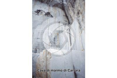 Marmo. Cava. Carrara. Toscana. Italia