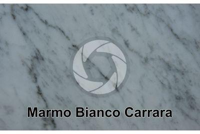 Marmo Bianco Carrara. Carrara. Toscana. Italia. Sezione lucida