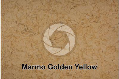 Marmo Golden Yellow. Sinai. Egitto. Sezione lucida