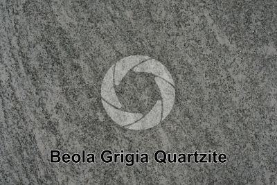 Beola Grigia Quartzite. Piedmont. Italy. Polished section