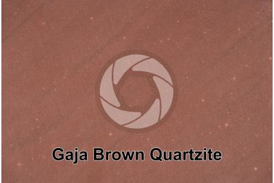 Gaja Brown Quartzite. India. Polished section