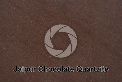 Jaipur Chocolate Quartzite. India. Polished section