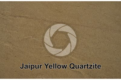 Jaipur Yellow Quartzite. India. Polished section