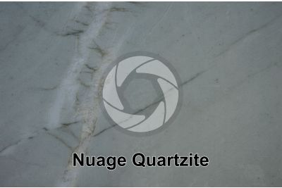 Nuage Quartzite. Brazil. Polished section